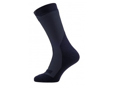 SealSkinz THICK MID waterproof merino socks black