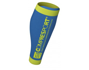 COMPRESSPORT CALF R2V2 compression sleeves ice blue