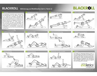 Blackroll Booster set black