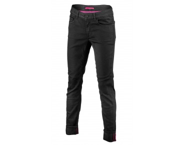 ALBERTO BICICLETTA STAY BLACK DENIM women's jeans black