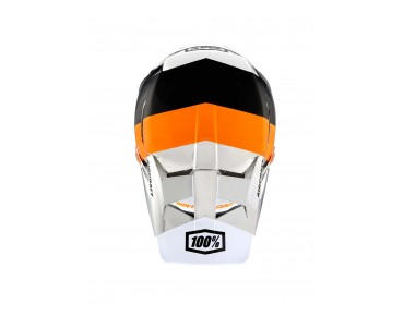 100% AIRCRAFT full-face helmet R8 chrome orange