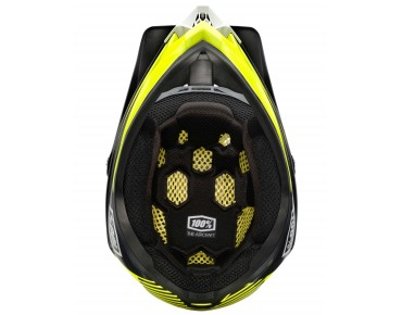 100% AIRCRAFT full-face helmet basetech yellow