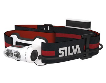 Silva Trail Runner 2 / Trail Runner 2X USB Stirnlampe schw/rot