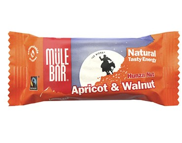 Mulebar Natural Tasty energy bar 40g Hunza Nut / Apricot Walnut