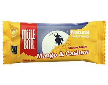 Mulebar Natural Tasty energy bar 40g mango tango/mango-cashew nut
