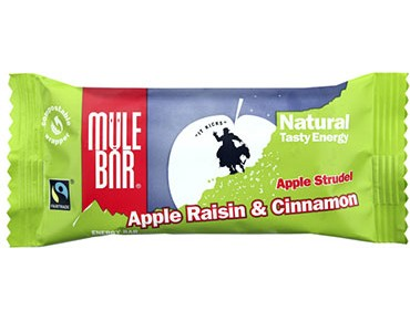 Mulebar Natural Tasty energy bar 40g Strudel / Apfel, Zimt, Rosine