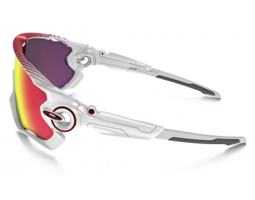 OAKLEY JAWBREAKER sports glasses polished white/PRIZM ROAD