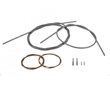 SHIMANO Dura Ace brake cable set, polymer-coated for BR-9000 grau