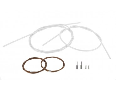 SHIMANO Dura Ace brake cable set, polymer-coated for BR-9000 white