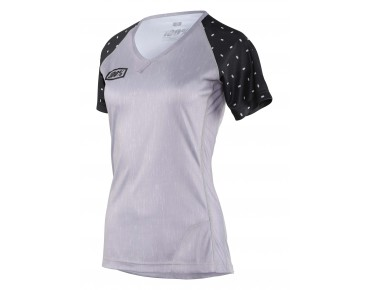 100% AIRMATIC SKYLAR women's cycling shirt gray heather