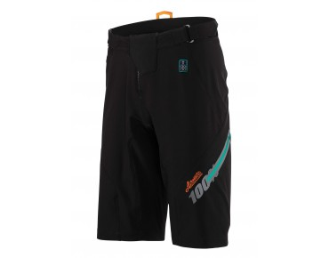 100% AIRMATIC FAST TIMES cycling shorts black