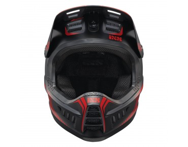 iXS XACT full-face helmet black/fluo red