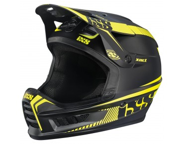 iXS XACT - casco integrale black/lime
