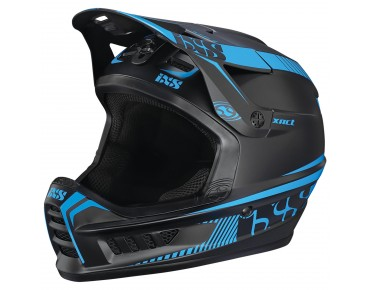 iXS XACT - casco integrale black/fluo blue