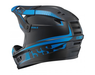 IXS XACT full-face helmet black/fluo blue