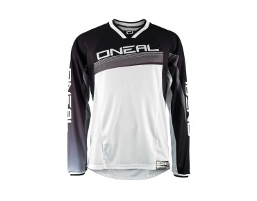 O´NEAL ELEMENT FR Greg Minnaar kids' long-sleeved shirt black-white
