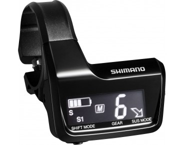 SHIMANO SC-MT800 Display schwarz