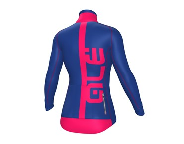 ALÉ ALÉ GRAPHICS PRR ARCOBALENO women's softshell jacket blue light/strawberry