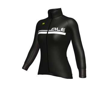 ALÉ GRAPHICS EXCEL TOURIST 2017 women's softshell jacket black/white