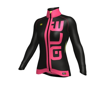 ALÉ ALÉ GRAPHICS PRR ARCOBALENO women's softshell jacket black/fluo pink