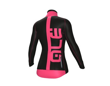 ALÉ GRAPHICS PRR ARCOBALENO women's softshell jacket black/fluo pink