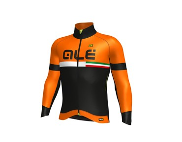 ALÉ GRAPHICS PRR TIRRENO 2017 softshell jacket black/fluo orange