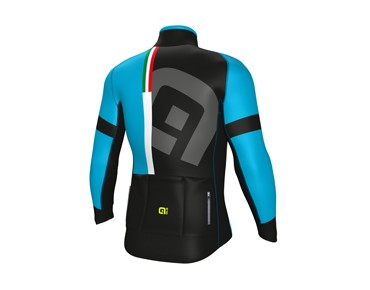 ALÉ GRAPHICS PRR TIRRENO 2017 softshell jacket black/blue sky