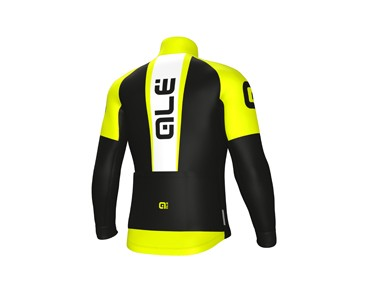 ALÉ GRAPHICS EXCEL WEDDELL 2017 Softshelljacke black/yellow fluo