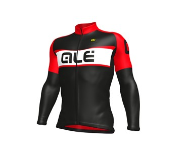 ALÉ ALÉ GRAPHICS EXCEL WEDDELL 2017 winter jersey black/red