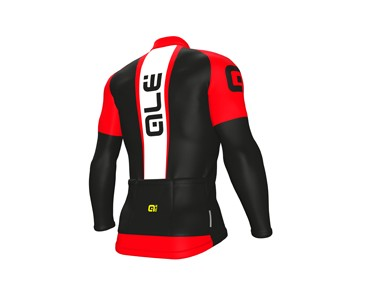 ALÉ ALÉ GRAPHICS EXCEL WEDDELL 2017 Wintertrikot black/red