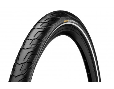 Continental City Ride II Reflex trekking tyre black/black reflective