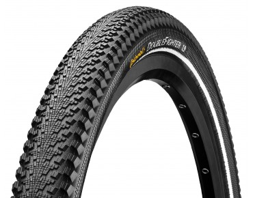 Continental Double Fighter III Reflex MTB tyre, clincher black