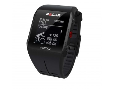 Polar V800 HR sports watch black/black