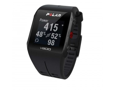 Polar V800 HR GPS sports watch black/black
