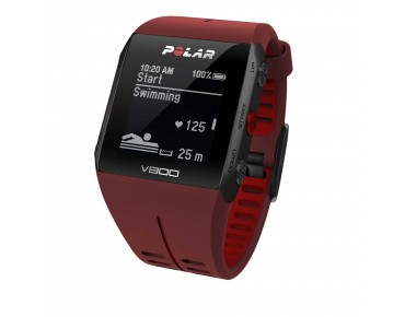 Polar V800 HR Combo sports watch red