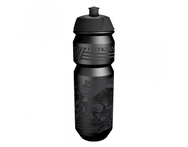 rie:sel design - borraccia 750 ml skull schwarz