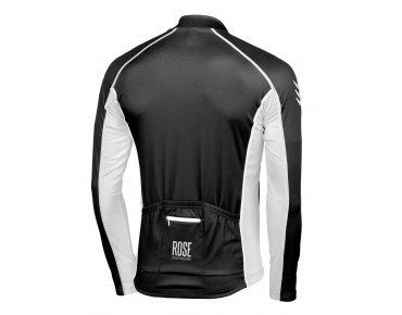 ROSE DESIGN IV Thermo Langarm Trikot black/white