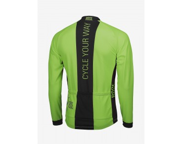 ROSE LINE THERMO long-sleeved jersey fluo green/black
