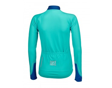 ROSE DOTS II women's long-sleeved jersey malibu/blue