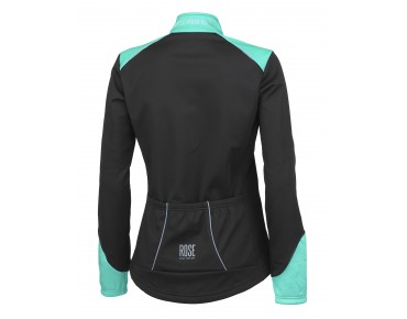 ROSE WIND FIBRE SOFTSHELL II Damen Jacke black/malibu