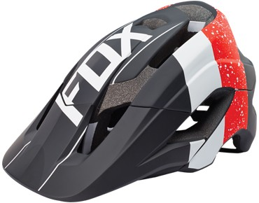FOX METAH helmet KROMA red/black