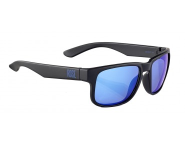 ROSE RB 02 glasses matt black / Blue REVO