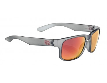 ROSE RB 02 glasses matt dark grey / Blackred REVO