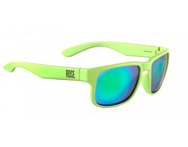 ROSE RB 02 glasses matt lime green / Green REVO