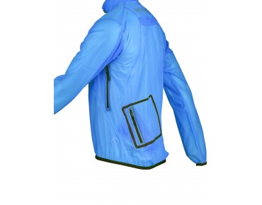 PERFORMANCE II Regenjacke blue/transparent