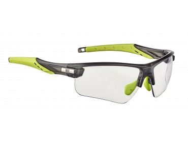 ROSE PS 07 photochromic glasses matt clear black-lime green / photochromic clear to grey