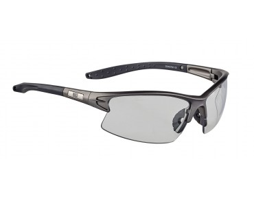 ROSE PS 08 photochromic glasses matt Metal gun-black / photochromic clear to grey