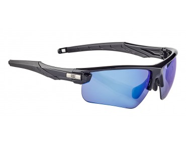 ROSE RB 03 glasses shiny black / Blue REVO
