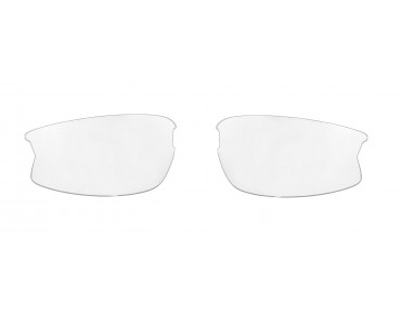 ROSE RBS 28 glasses set shiny white-black / smoke mirror