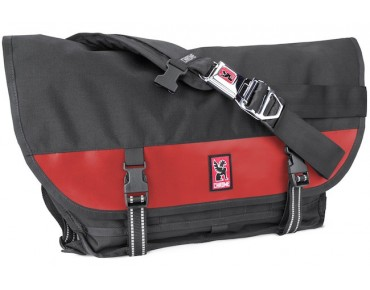 CHROME CITIZEN messenger bag black/red